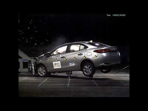 Toyota Yaris passes crash test with 5 star safety rating
