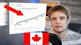 КОРОНАВИРУС В КАНАДЕ - Прогнозы на Будущее и Что Сказал Премьер Министр Канады | Британская Колумбия