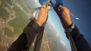 Emergencia al no abrirse paracaidas principal