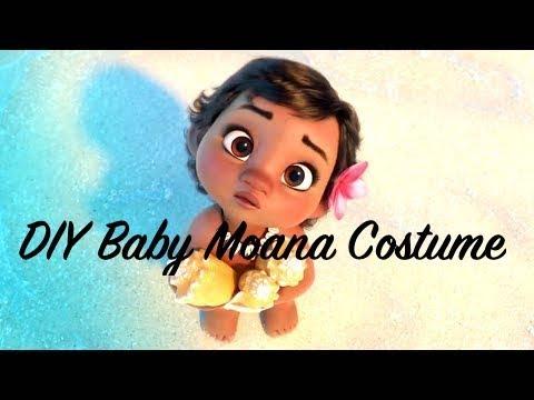 786129b502157 DIY Baby Moana costume