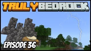 Thunder Shrine And Base Invading! - Truly Bedrock (Minecraft Survival Let's Play) Episode 36
