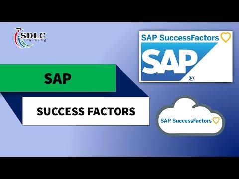 Best SAP SuccessFactors Course Training Online | SDLC Training