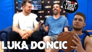 Video de ¡HABLANDO CON LUKA DONCIC! | Vlog Rodaje NBA 2K19