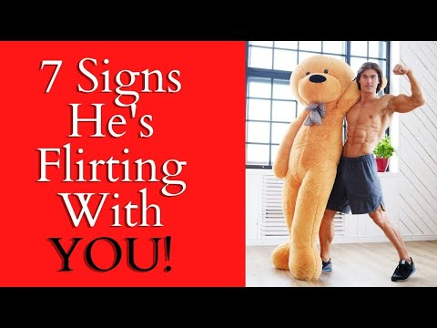 7 Subtle Signs He's Flirting With You  ❤ You WANT To Know!