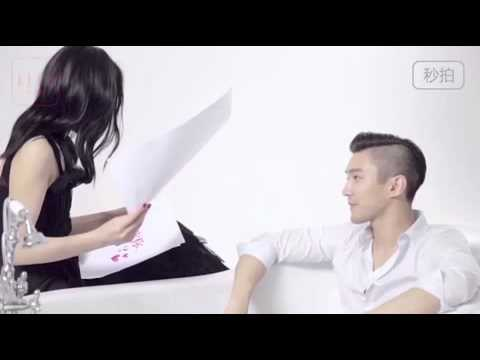 Siwon & Liu Wen for ELLE China Mag -  Photoshoot