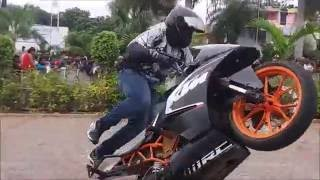 Bike Stunts at Auto Expo 2016