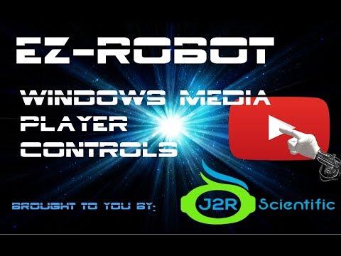 EZ-Robot Windows Media Player Controls