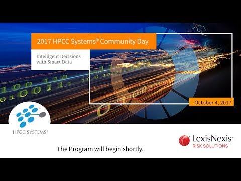 2017 HPCC Systems Community Day Track 4: HPCC Systems Roadmap Tech Talks