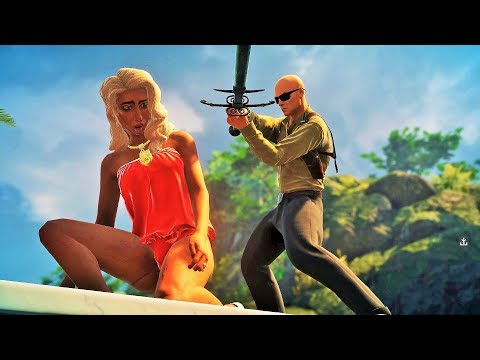 Agent 47 Action Stealth Moments - HITMAN 2 Gameplay Montage