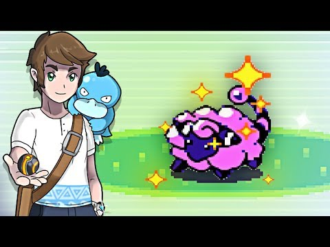 Live Shiny Mareep After 7166 REs - Pokemon Gold VC