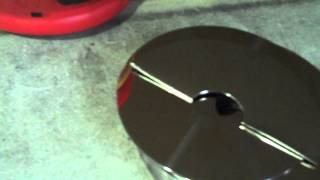Scrapping HDD Platters Part 1: The Cutting