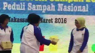 HARI PEDULI SAMPAH NASIONAL 2016, Makasar