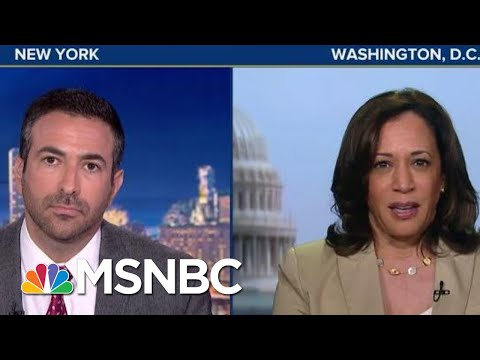 Kamala Harris Full Interview: Gender Pay, Barr Bias, Obstruction | The Beat With Ari Melber | MSNBC