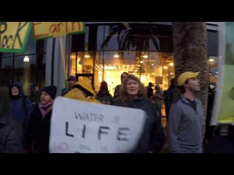 North Dakota Access Pipeline Protest, CNN Los Angeles, 11/26/16