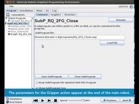 How to Install and Program Robotiq Gripper on Universal Robots - ROBOTIQ