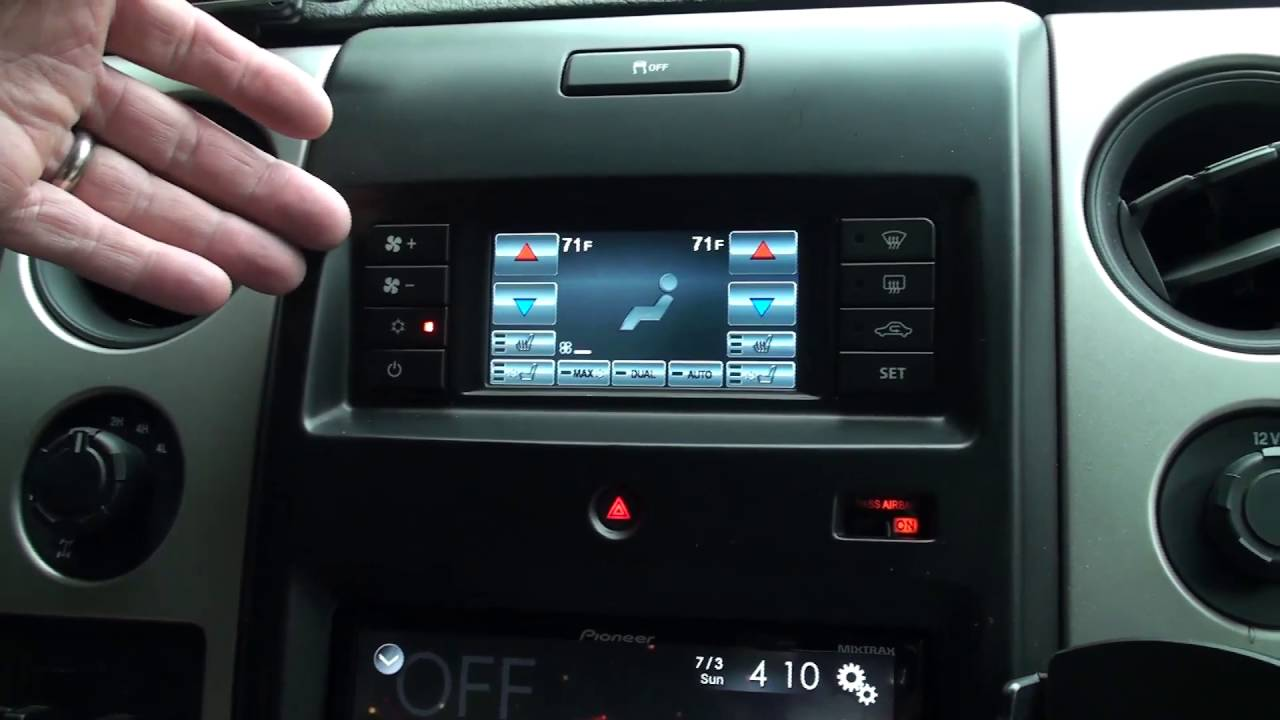 Product Review: 2013+ F150 Scosche Dash Kit with Integrated HVAC Controls