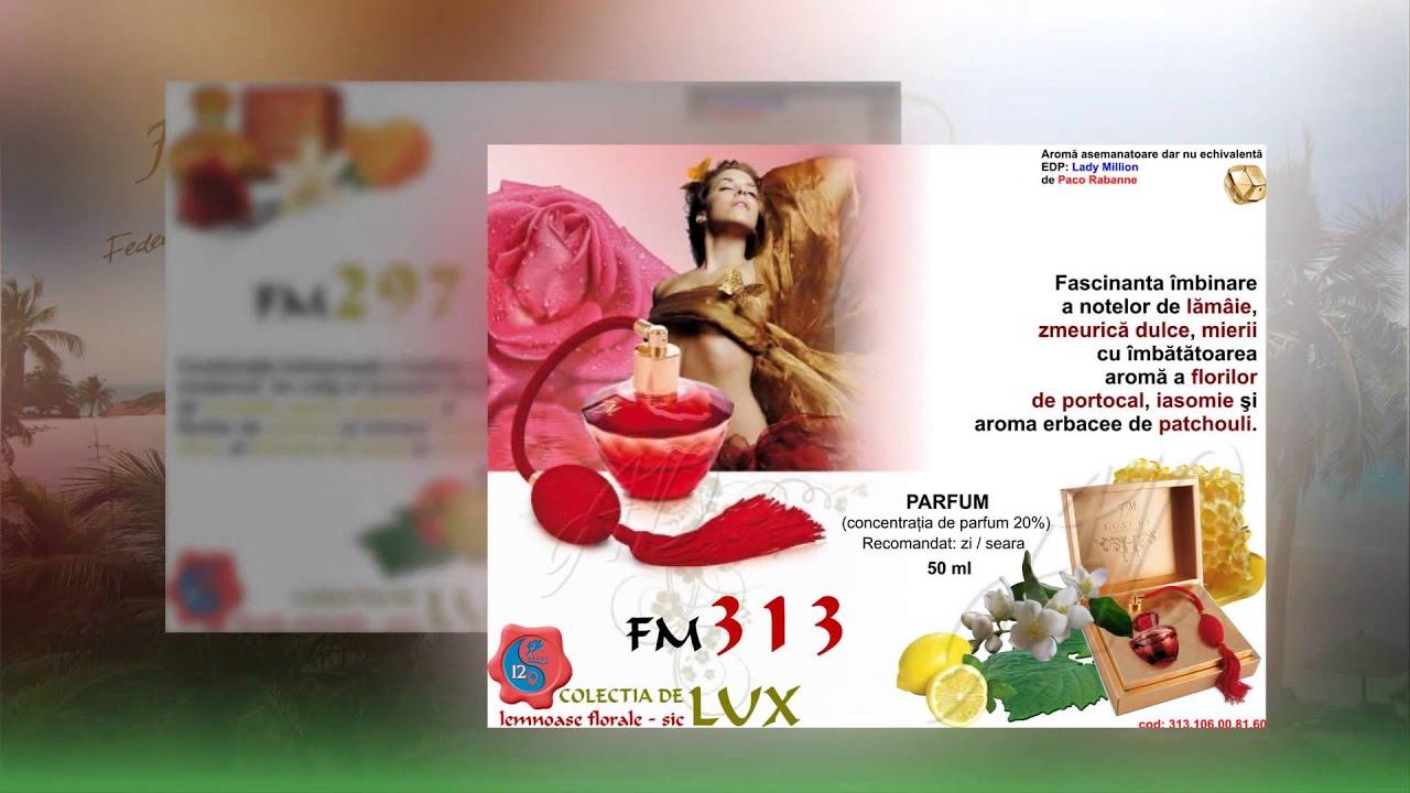 Parfum Fm Lux Dama Youtube