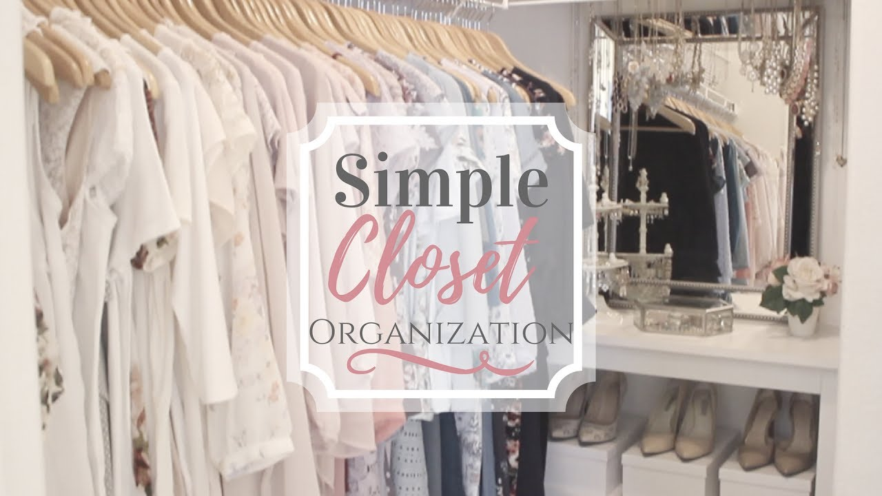 Walk In Closet Tour | What Should We Put On? | Simple Organization