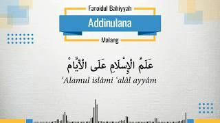 Addinulana - Faroidul Bahiyyah (Banjari + Lirik)