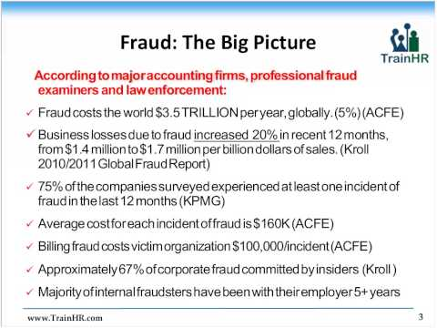 Detecting and Preventing Accounts Payable Fraud - TrainHR