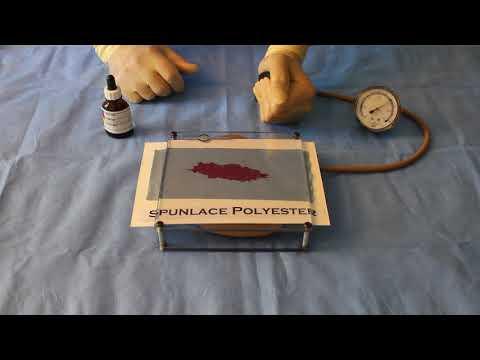 Spunlace Non-Woven Drape material Blood Penetration