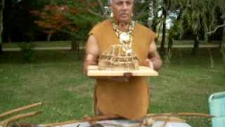 Chickahominy Indian longhouses