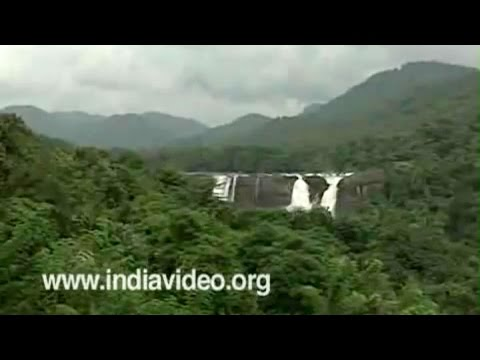The cascading waters of Athirappally