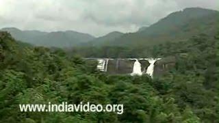 Athirapally Waterfalls at Chalakudy Kerala