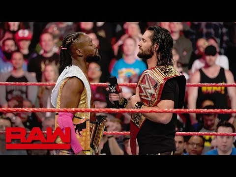 Seth Rollins and Kofi Kingston agree to a Winner Take All Match: Raw, April 8, 2019