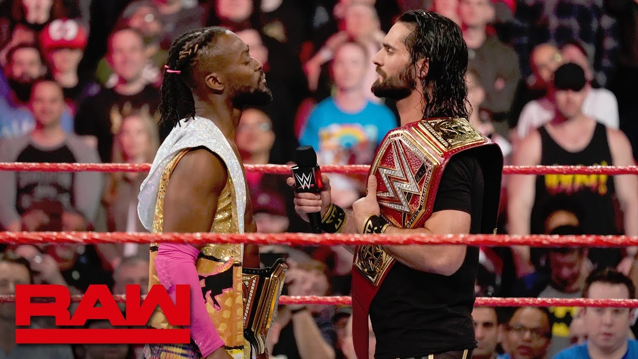 Seth Rollins and Kofi Kingston agree to a Winner Take All Match: Raw, April 8, 2019