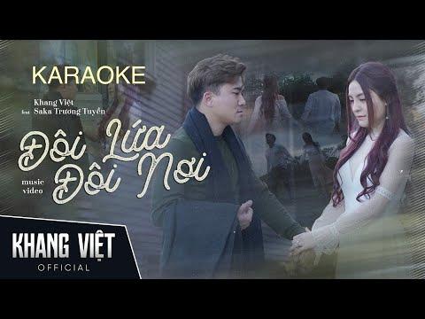 Karaoke - Đôi Lứa Đôi Nơi    Minh Luân Ft  Lee
