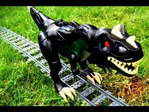 Download Youtube: Lego - Train vs Dino (Jurassic Track)