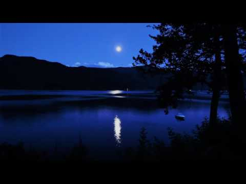 """3 Hours Ocean Waves Sounds and """"Moonlight"""" Beethoven Piano - Healing Relaxing Sleeping Nature Sounds"""