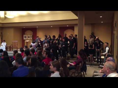 Saint Ignatius College Prep: Gospel Choir - Reign Down On Me