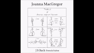 Joanna MacGregor: Bach's French Suite No 5 in  G major BWV 816 VI. Loure