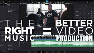 The Right Music Can Completely Change YOUR Videos | Davinci Resolve 16