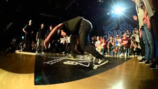 FreeStyle Session 2015 Taiwan - Crew Battle Top4 - Bboyz In The Hood V.S Taokaz
