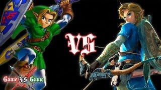 Breath of the Wild VS Ocarina of Time (Comparison)