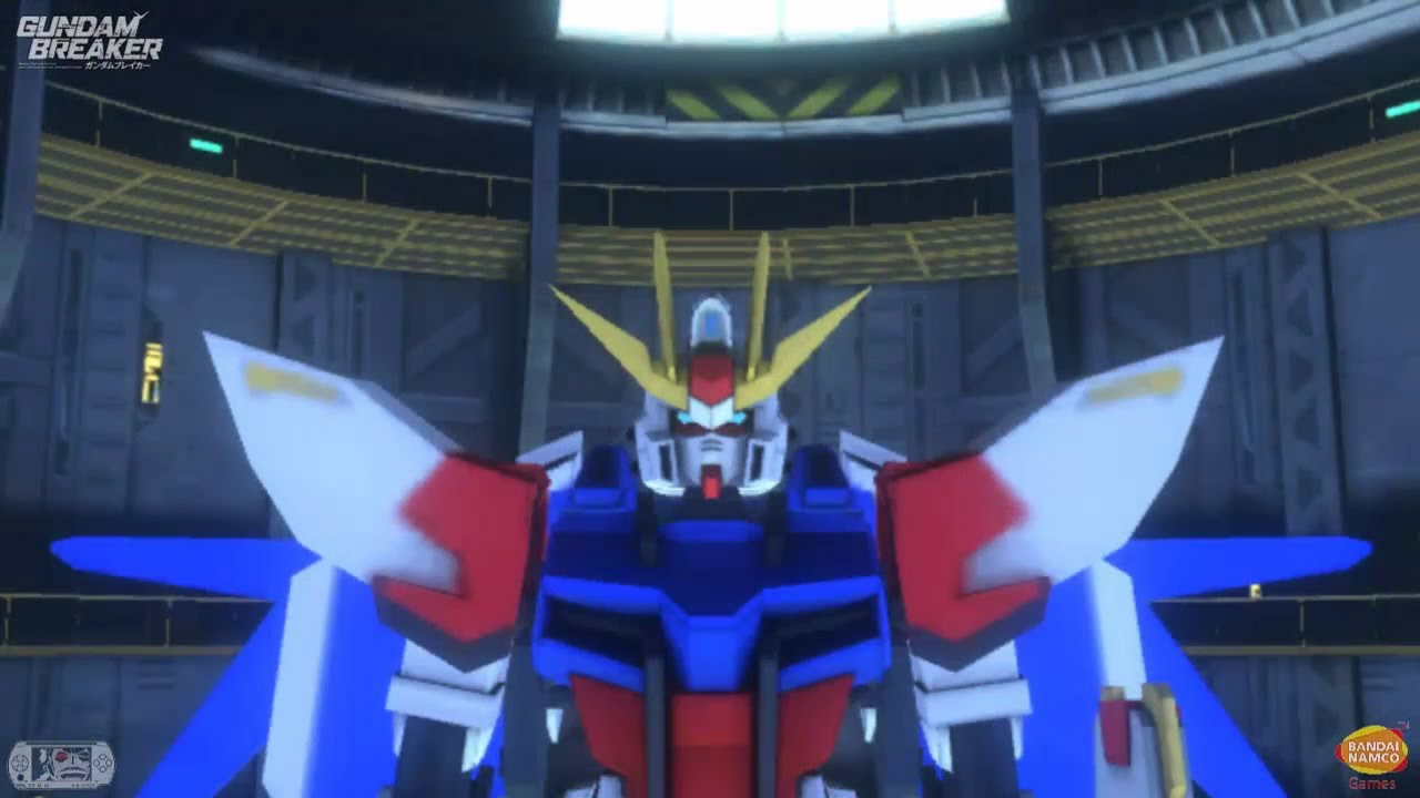 Gundam Build Fighters Try Game