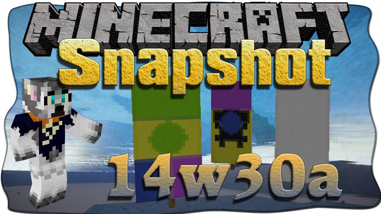 Minecraft 1.8 Snapshot 14w30a [Deutsch/German] - Flaggen ...