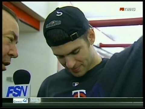 FS North Interview 10/6/09: Joe Mauer