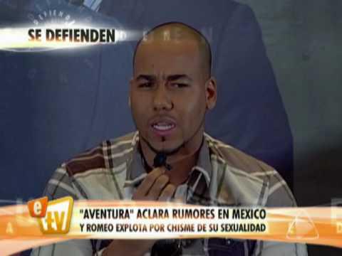 Romeo Santos aclara su sexualidad