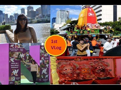 My Day In Brisbane (Australia) | City Cat |  South Bank | 1st VLog