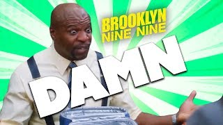 Terry Says DAMN!!! | Brooklyn Nine-Nine | Comedy Bites
