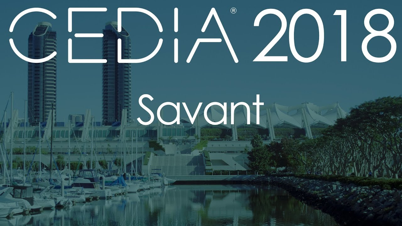 Savant on networked audio at CEDIA 2018 - YouTube