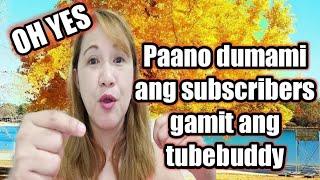 Download lagu Paano dumami ang subscribers gamit ang tubebuddy  - rank your video through tubebuddy
