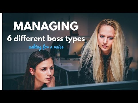 Managing up: Types of Bosses