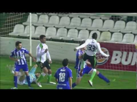Gol de Koné (1-1) en el Racing de Santander - SD Ponferradina - HD