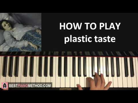 HOW TO PLAY - joji - plastic taste (Piano Tutorial Lesson)