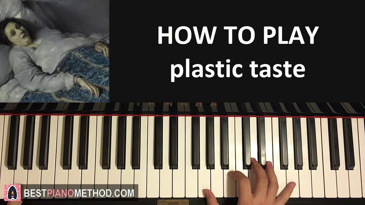 HOW TO PLAY - joji - plastic taste (Piano Tutorial Lesson